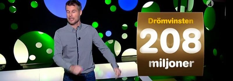 Storvinst på Lotto
